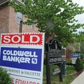 New homes are for sale or sold downtown along Southwest D street near the Bentonville square. Lampli...