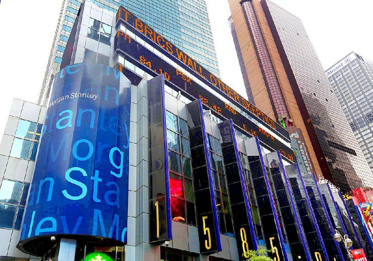 Morgan Stanley S Headquarters Near Times Square In New