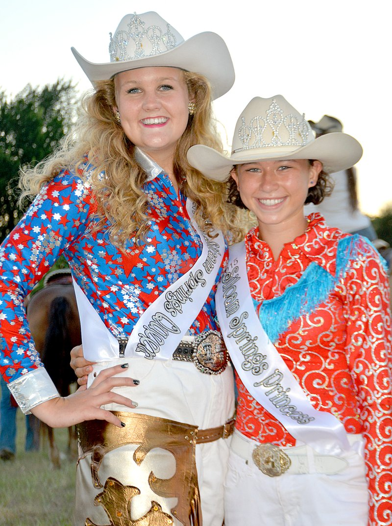 Thompson Ames Crowned Rodeo Royalty