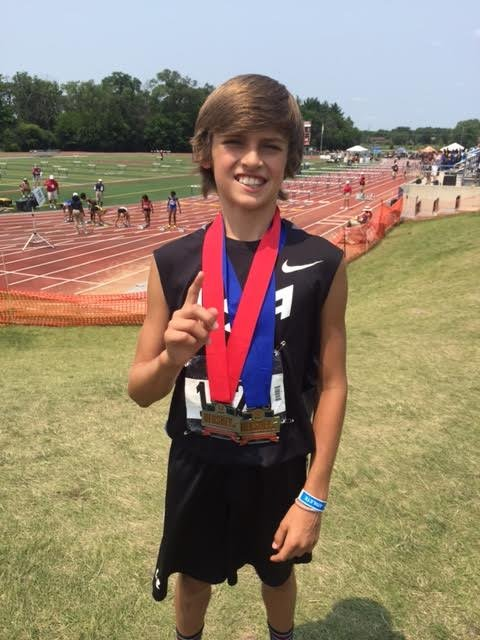 Track And Field Hurley Tops Competition In High Jump