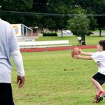 Darren McFadden football camp, Little Rock Air Force Base