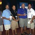 Coaches Ray Keller, Oakdale Middle School; Bobby Crockett, Woodland Junior High; Nick Nersesian, Ben...