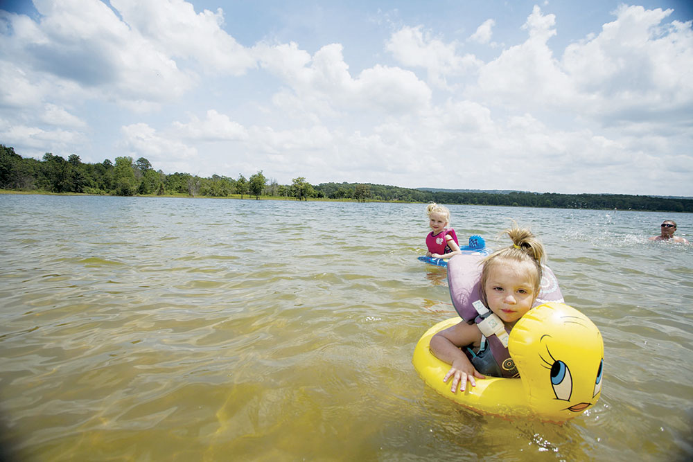 Paddle Battle Organized To Attract People To Lake Area After Regular Season