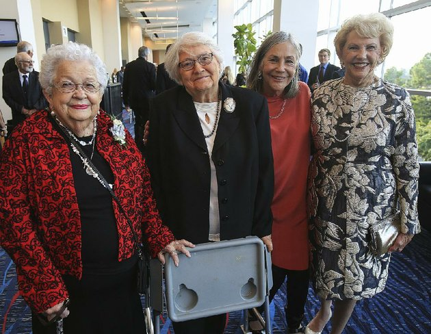 mary-ann-ritter-arnold-from-left-mary-good-alice-walton-and-johnelle-hunt-were-among-thursday-nights-inductees-into-the-arkansas-womens-hall-of-fame-during-a-ceremony-at-the-statehouse-convention-center-in-little-rock