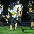 Prairie Grove defender Dakota Hutchison scrimmages Aug. 20 with the team.