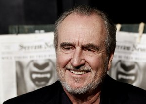 Wes Craven is shown in this October 2010 file photo.