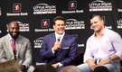 Felix Jones, Peyton Hillis talk to LR Touchdown Club
