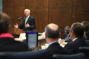 Hutchinson urges redo of fund flow to colleges