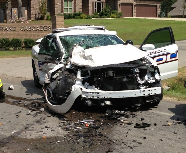 Car Today Jonesboro Ar >> Jonesboro officer injured in head-on collision with truck