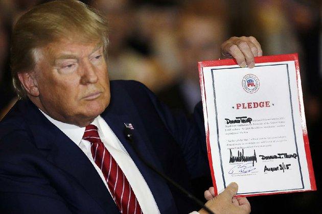 Resultado de imagen de trump promises