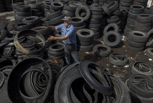 benton county solid waste district to resume tire disposal