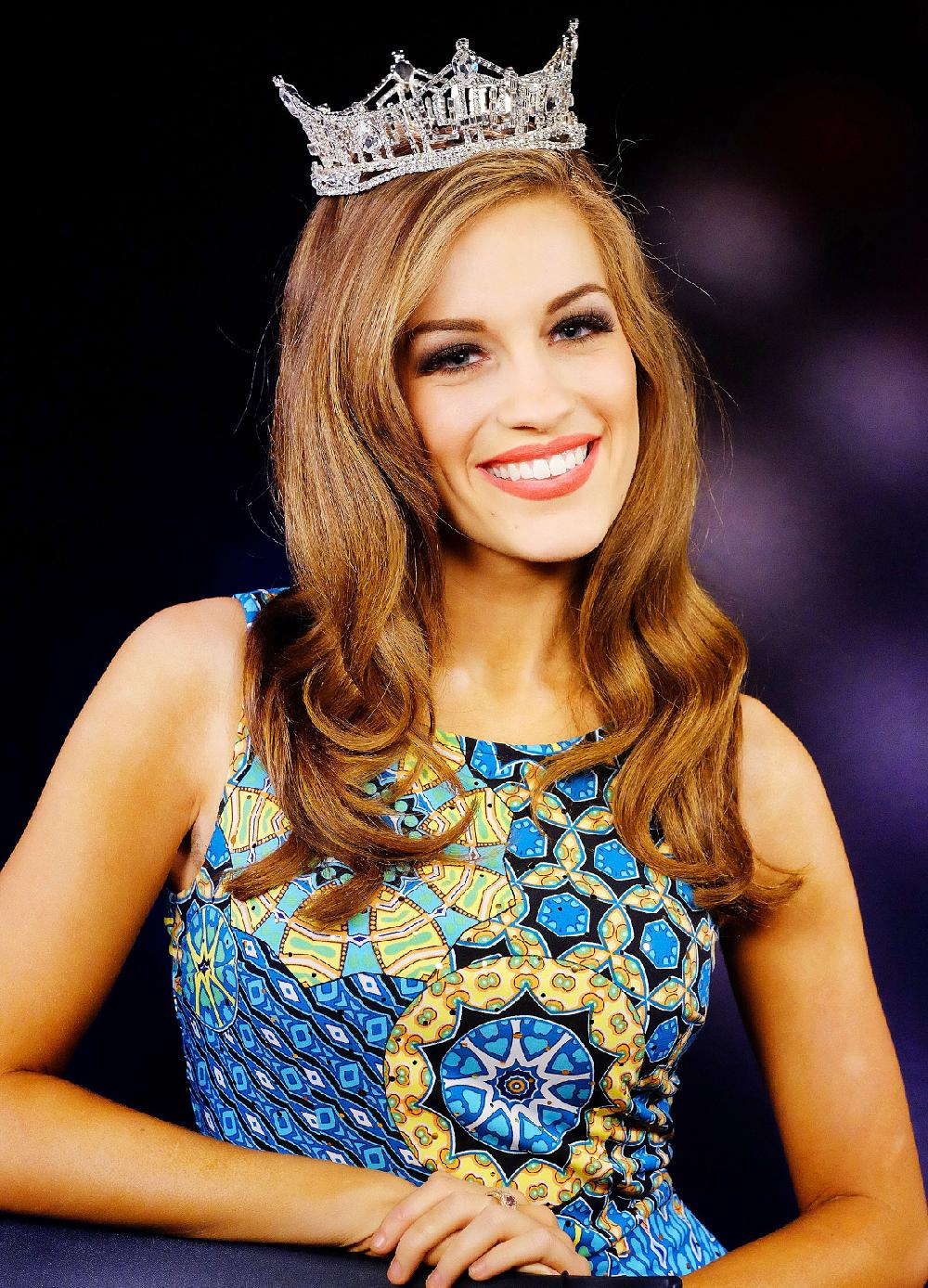 Newly-crowned Miss America 2016, Betty Cantrell