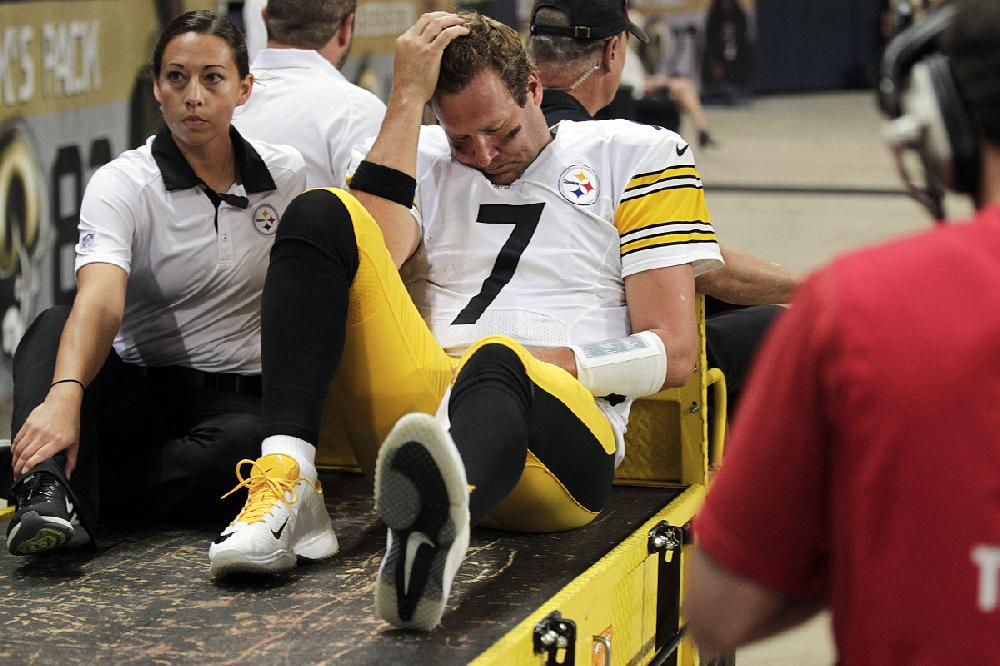 Pittsburgh Steelers Quarterback Ben Roethlisberger Is