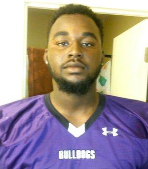 Fayetteville junior defensive lineman Akial Byers.