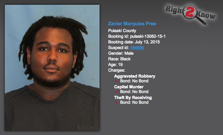 Phone's map led to arrest in North Little Rock slaying