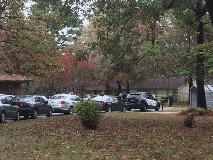 2 held, 1 at large after Little Rock officer-involved shooting