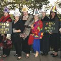 Pat Sweeden (from left), Susan Overgaard, Kelee Overgaard, Judy Thorpe, B.J. Dennis, Teri Round, Tar...