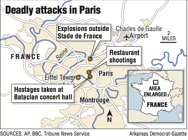 Bataclan Concert Hall Paris Map.Is Group Claims Paris Attacks Says France At Top Of List