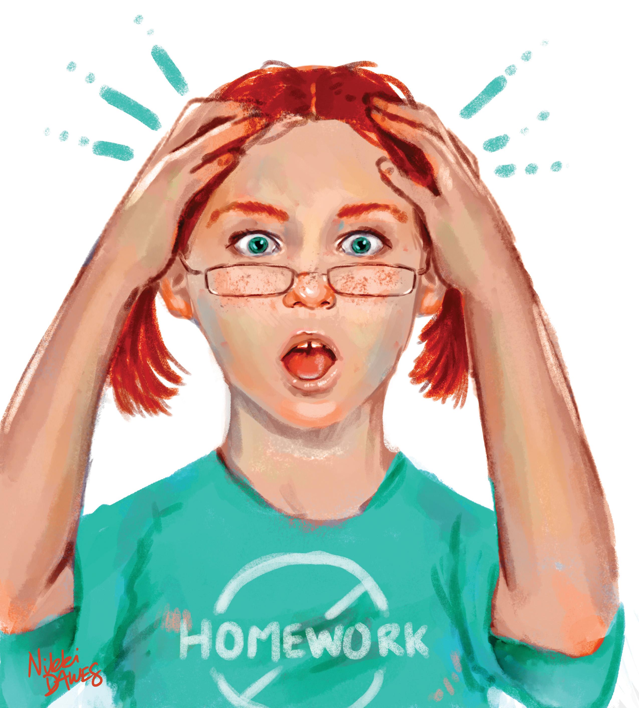 To do online homework