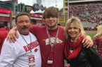 Jim, Hayden and Leah Johnson enjoyed their time in Fayetteville during the Mississippi State game weekend.