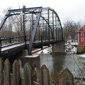 The War Eagle bridge, seen here Feb. 21, spans the War Eagle River in east Benton County.