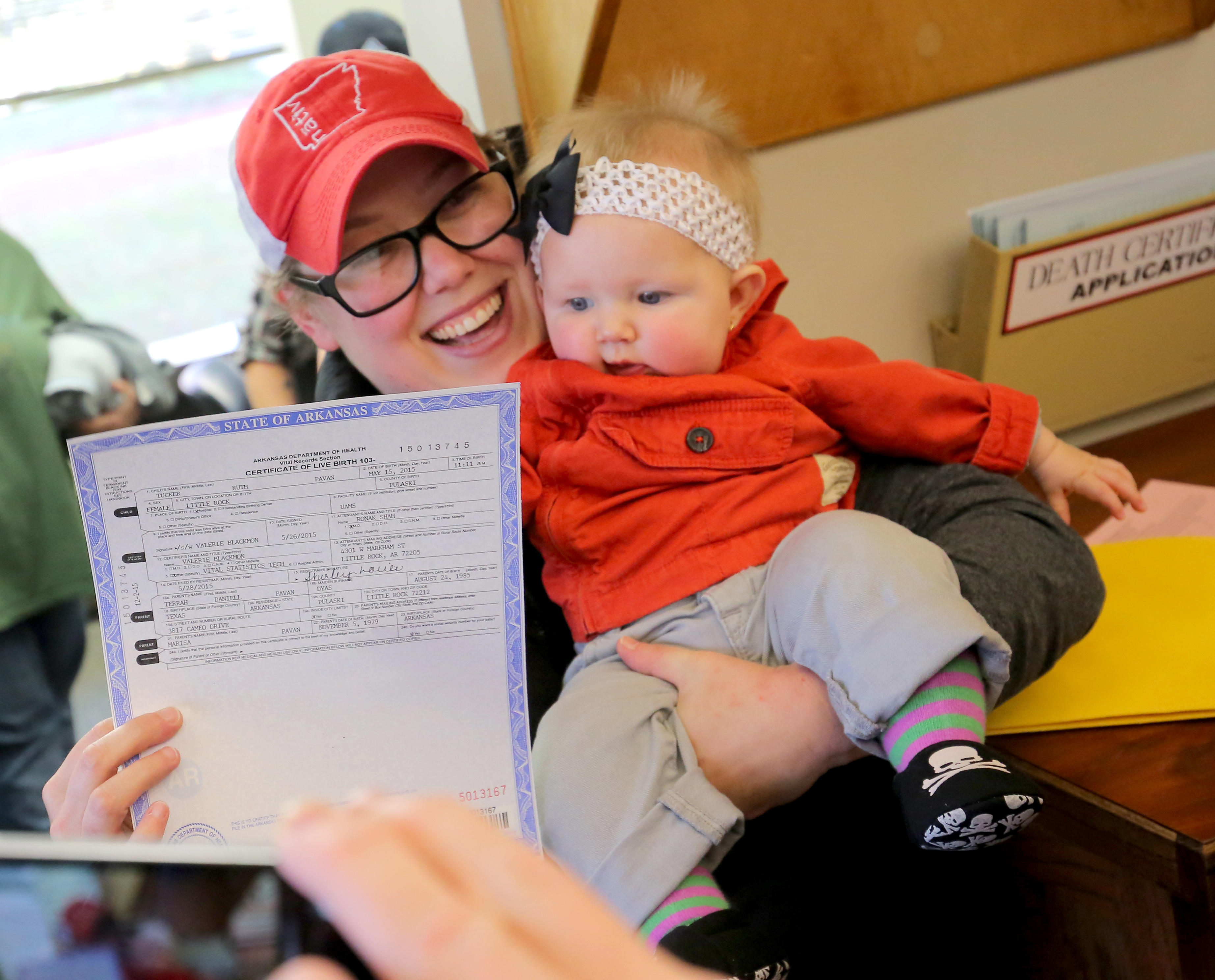 Arkansas issues amended birth certificate to same-sex couple