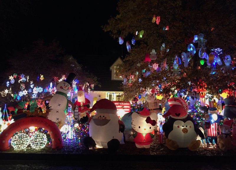 photos every inch of north little rock house yard covered for christmas