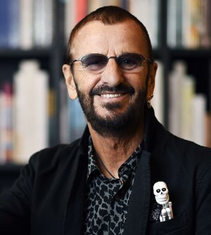 Ringo Starr Is Shown In This File Photo