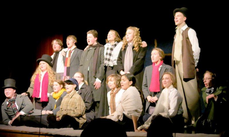 A Christmas Story The Musical High School