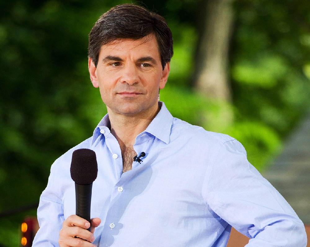 George Stephanopoulos is shown in this photo.