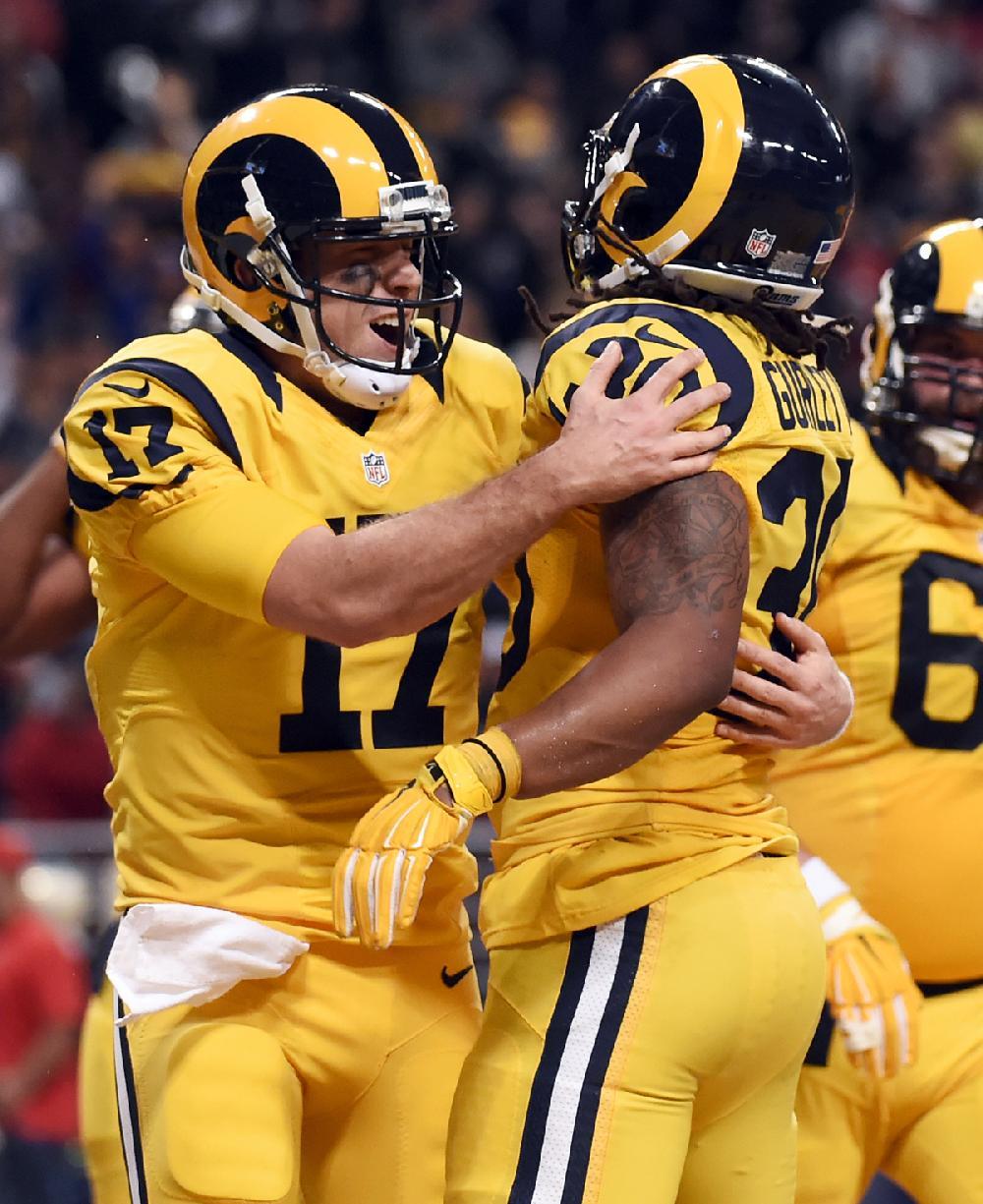 St Louis Rams Quarterback Case Keenum Left