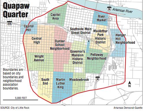 Little Rock\'s Quapaw Quarter out to define itself | NWADG