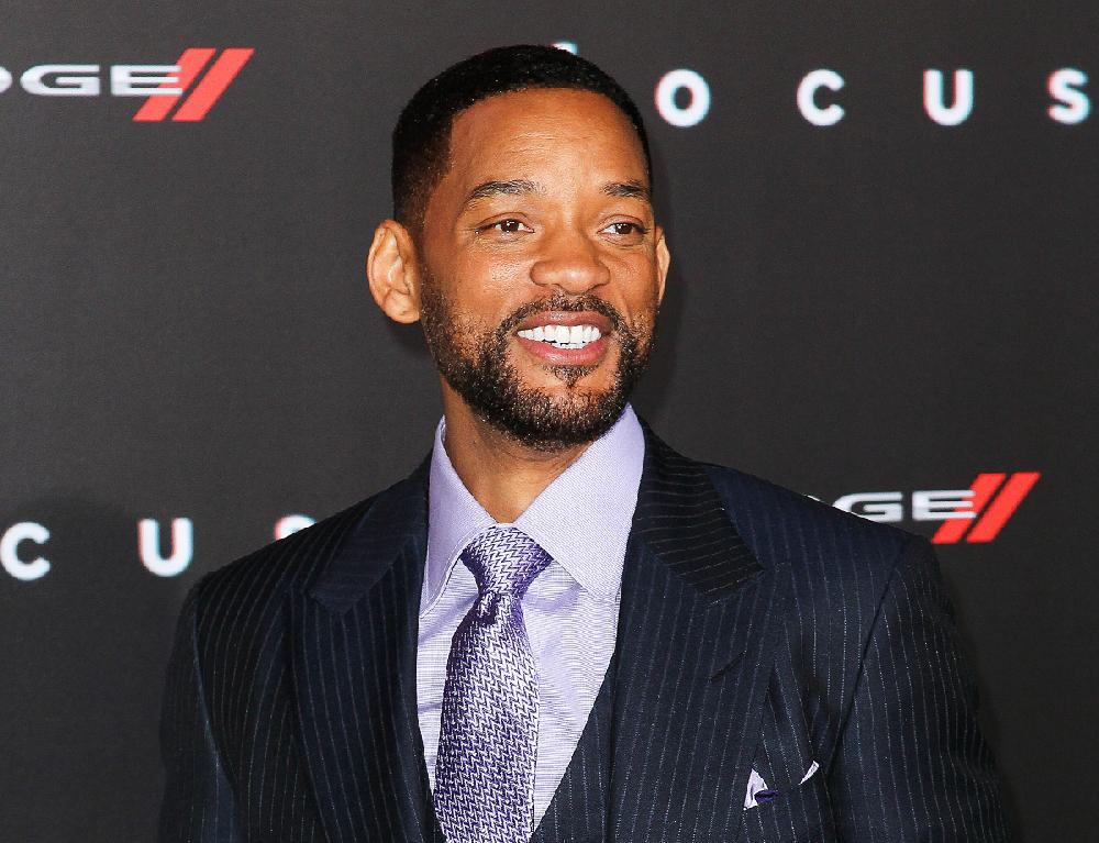 Will Smith is shown in this photo. Will Smith