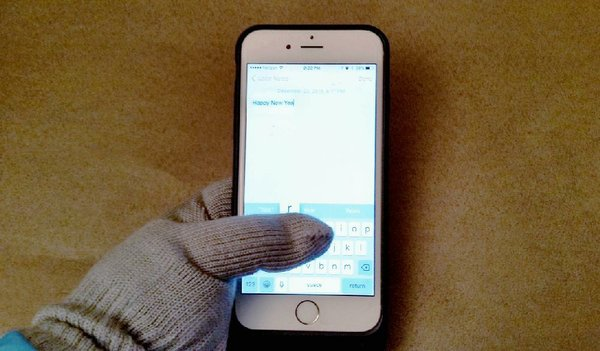 write on photos iphone gloves for chill keep decent touch on screens 7676
