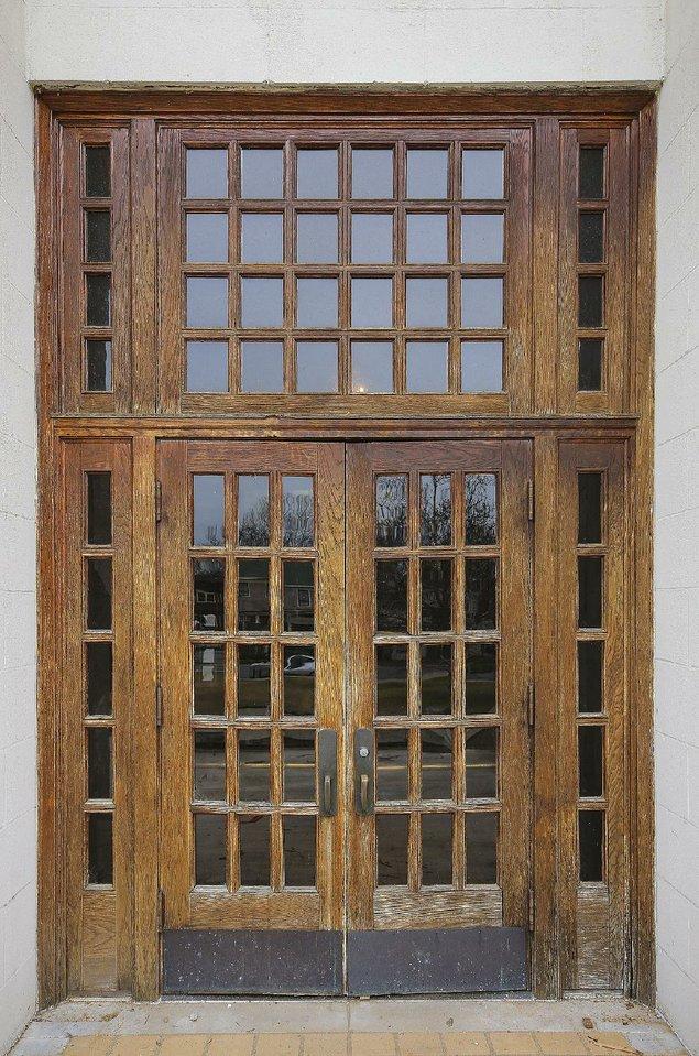 School Front Doors. School Doors. One Doors Front D