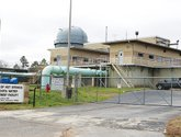 The Sentinel-Record/Richard Rasmussen WATER TREATMENT PLANT: The city's Ouachita Water Treatment Plant, located near Mountain Pine, began treating the water supply with fluoride around 12:30 p.m. Monday.