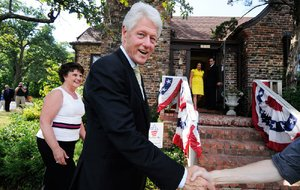 Former President Bill Clinton is shown in this 2010 file photo.