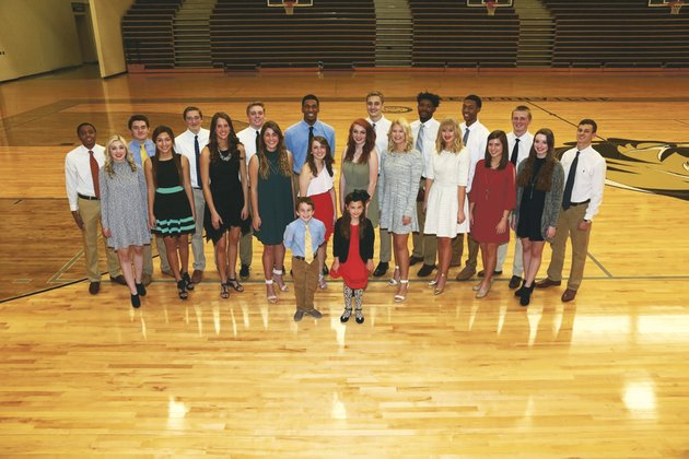 Bentonville High names Colors Day court
