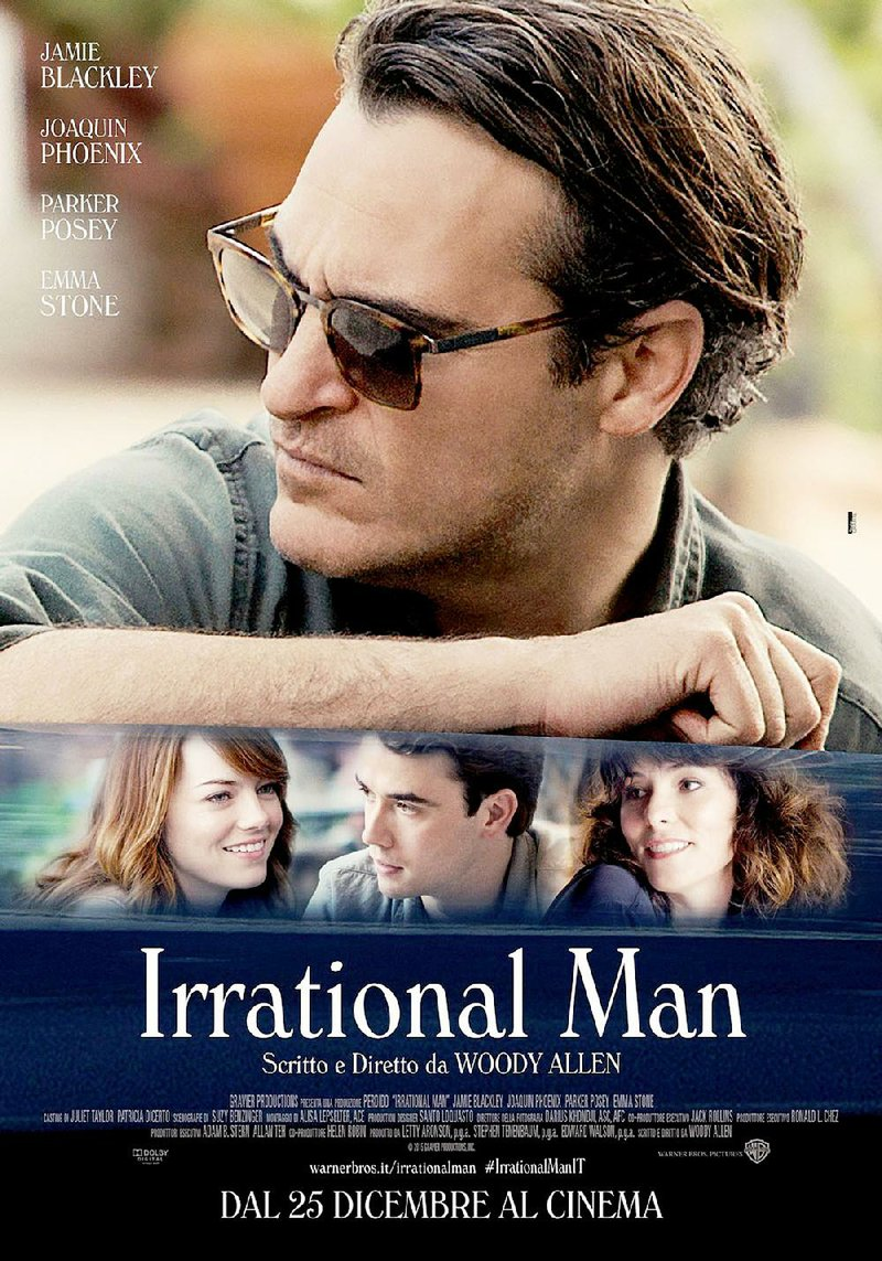 Image result for irrational man joaquin phoenix Poster