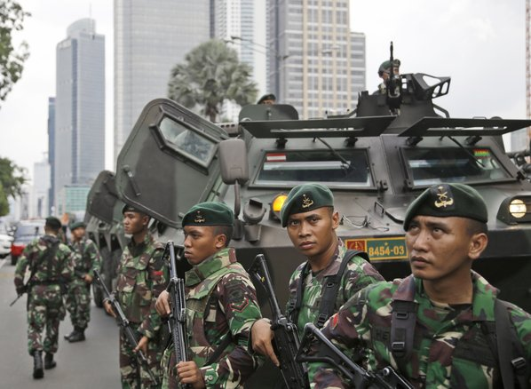 Jakarta attack Islamic State-linked militant suspected of being ringleader