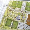A conceptual drawing from Crafton Tull of a proposed 51-acre park near the Arkansas River was presen...
