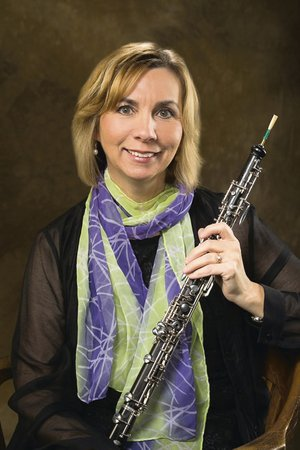 Oboist Theresa Delaplain will perform centerstage Saturday with the Fort Smith Symphony.