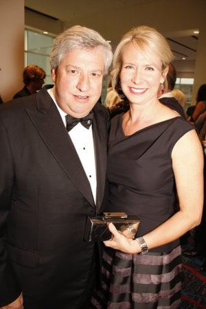 Attorney and University of Arkansas System Trustee John Goodson and his wife, Arkansas Supreme Court Justice Courtney Goodson, attend a charity event in this 2̶0̶1̶2  2014 file photo.