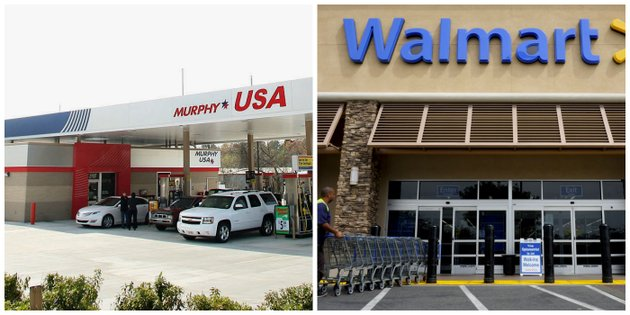 murphy-usa-and-wal-mart-file-photos
