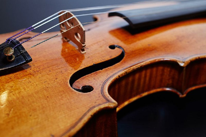 ASO soloist to share stage with historic violin