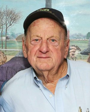 Hall of Fame trainer Jack Van Berg.