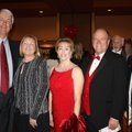 Donny and Cheryl Story (from left), Angela and Mark Waldrip, UA Trustee and Dave Van Horn, UA baseba...