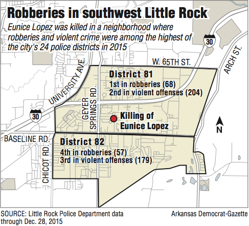 3rd teen arrested in fatal shooting of Little Rock mother