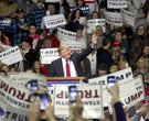 Donald Trump campaign rally at Barton Coliseum