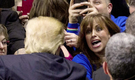Clinton accuser Paula Jones attends Little Rock Trump rally